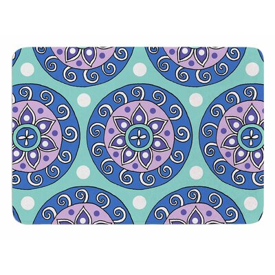 Mandala Dot by Sarah Oelerich Bath Mat