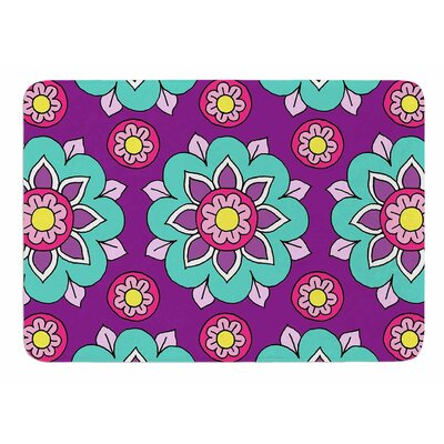 Bright Blossoms by Sarah Oelerich Bath Mat