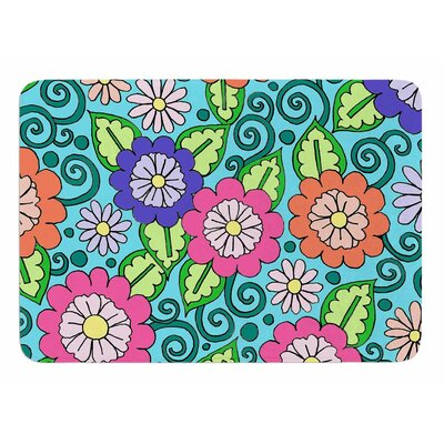 Summer Floral by Sarah Oelerich Bath Mat