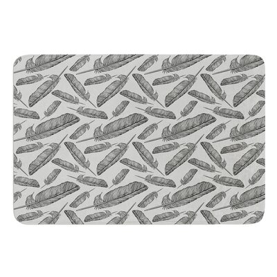 Feather Scene by Sam Posnick Bath Mat