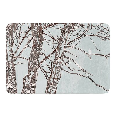 Winter Trees by Sam Posnick Bath Mat