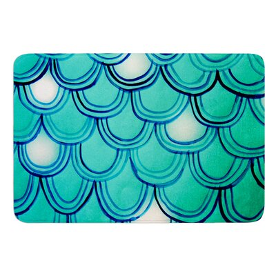 Mermaid Tail by Theresa Giolzetti Bath Mat