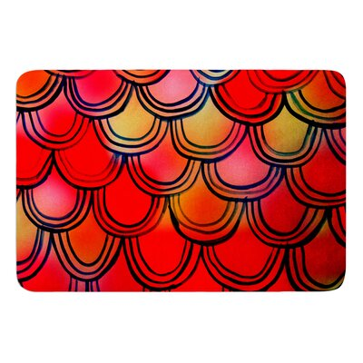 Dragon Tail by Theresa Giolzetti Bath Mat