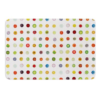 Fruit by Theresa Giolzetti Bath Mat