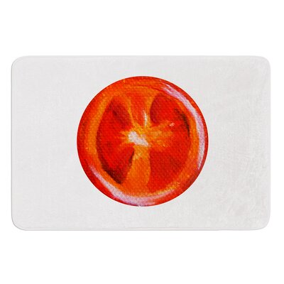 Tomatoes by Theresa Giolzetti Bath Mat