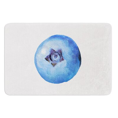 Blueberry by Theresa Giolzetti Bath Mat