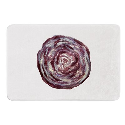 Cabbage by Theresa Giolzetti Bath Mat