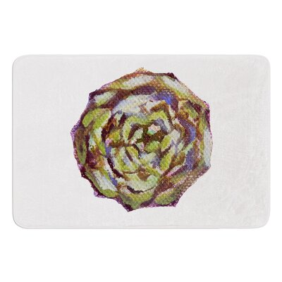 Artichoke by Theresa Giolzetti Bath Mat