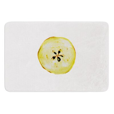 Apples by Theresa Giolzetti Bath Mat