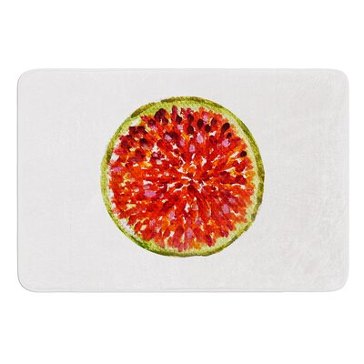Passion Fruit by Theresa Giolzetti Bath Mat