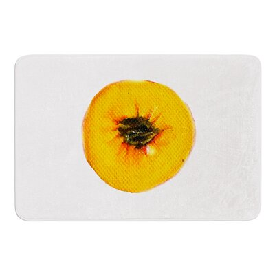 Peach by Theresa Giolzetti Bath Mat