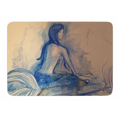 Mer-Maid? Huh... by Theresa Giolzetti Bath Mat