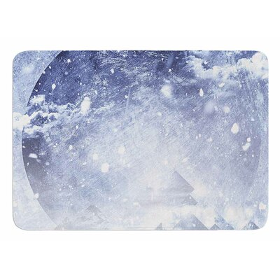 Even Mountains Get Cold by Ulf Harstedt Bath Mat