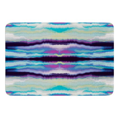 Artik Blue Stripe by Nina May Bath Mat