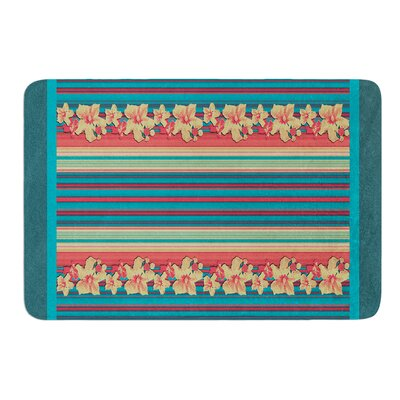 Mahalo Denim Stripe by Nina May Bath Mat