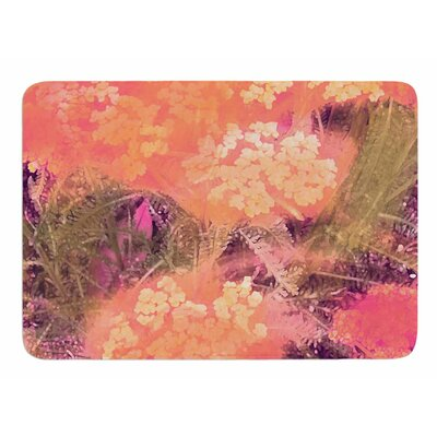 Wildflowers by Nina May Bath Mat