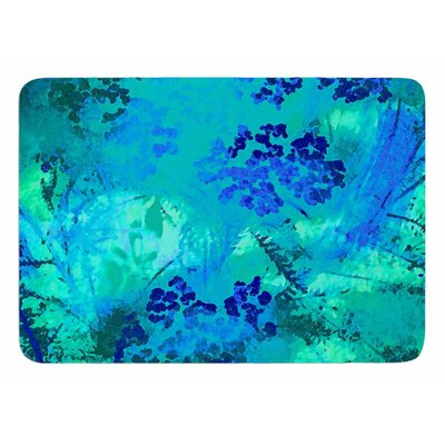 Wildflower by Nina May Bath Mat
