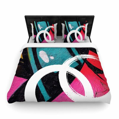 Channel Zero Woven Duvet Cover Size: Queen