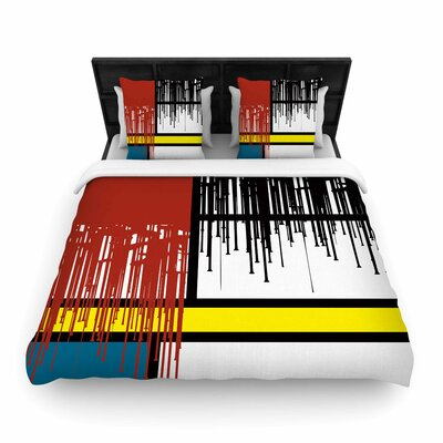 Saint Drips Woven Duvet Cover Size: Twin