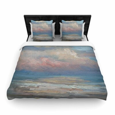 Cloud Woven Duvet Cover Size: Queen