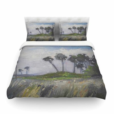 Wetlands Duvet Cover Size: King