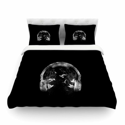 Headphone Duvet Cover Size: King