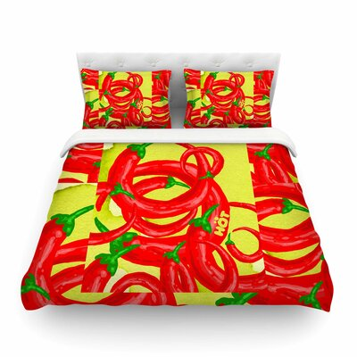 Hot Duvet Cover Size: Queen