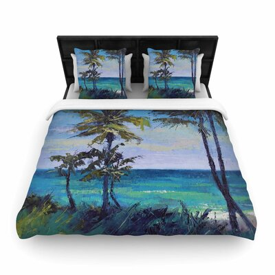 Room With A View Woven Duvet Cover Size: King