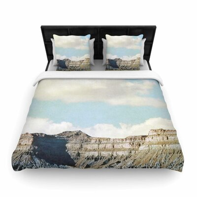 Out West Woven Duvet Cover Size: King