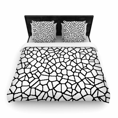 Staklo I Woven Duvet Cover Size: Twin