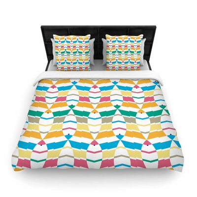 Percy Lemore Woven Duvet Cover Size: King