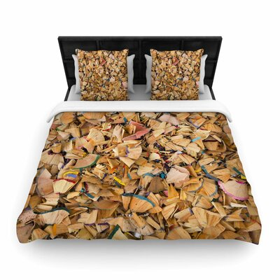 The Artist Woven Duvet Cover Size: Queen