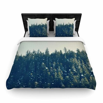 Take The Road Less Traveled Woven Duvet Cover Size: Twin