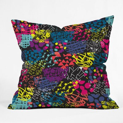 Textures Polyester Throw Pillow Size: 16 H x 16 W x 4 D