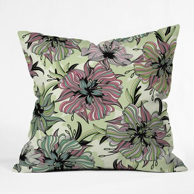 Sabine Reinhart Spring Has Sprung Polyester Throw Pillow Size: 16 H x 16 W x 4 D