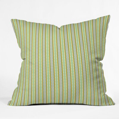 Sabine Reinhart Jeeval Polyester Throw Pillow Size: 16 H x 16 H x 4 D