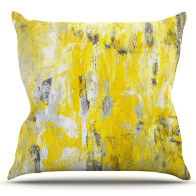Picking Around by CarolLynn Tice Outdoor Throw Pillow