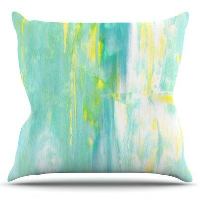 Spring Forward by CarolLynn Tice Outdoor Throw Pillow