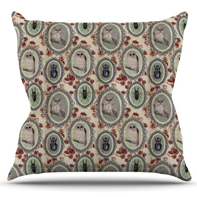 Camafeu by DLKG Design Outdoor Throw Pillow