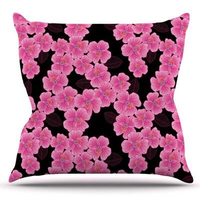 Julia Grifol Outdoor Throw Pillow