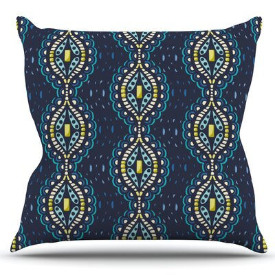 Ogee Lace by Suzie Tremel Outdoor Throw Pillow