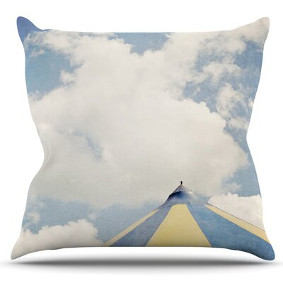 Carnival Tent by Susannah Tucker Outdoor Throw Pillow