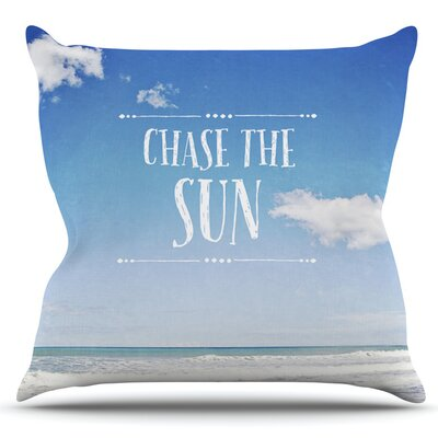 Chase the Sun by Susannah Tucker Outdoor Throw Pillow