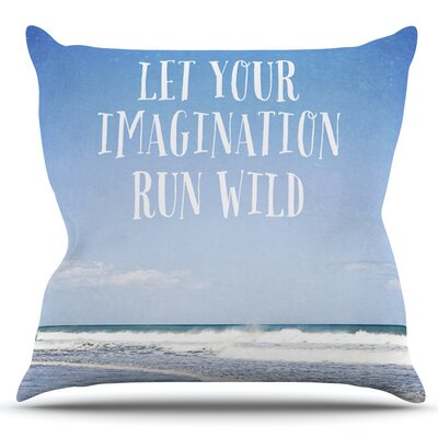 Let Your Imagination Run Wild by Susannah Tucker Outdoor Throw Pillow