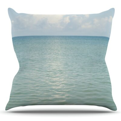 Cloud Reflection by Catherine McDonald Outdoor Throw Pillow