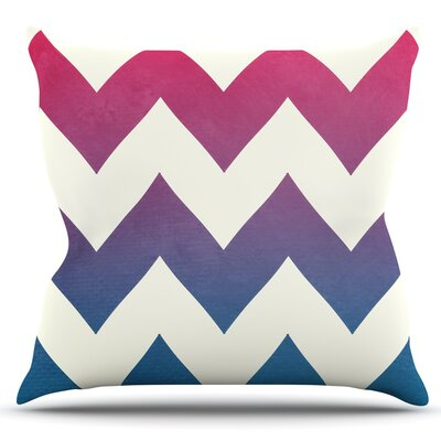 Fade by Catherine McDonald Outdoor Throw Pillow