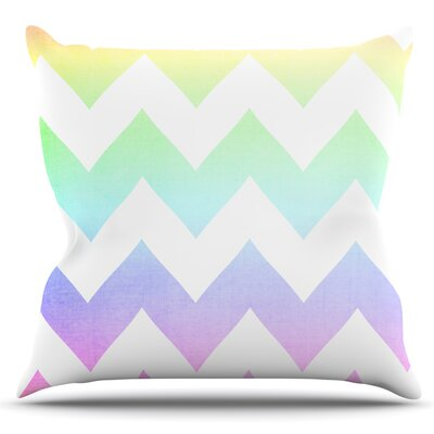 Water Color by Catherine McDonald Outdoor Throw Pillow