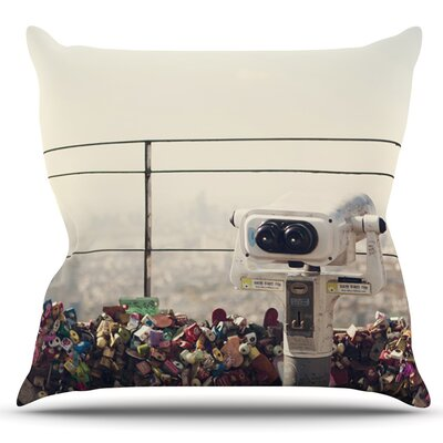 The View Seoul by Catherine McDonald Outdoor Throw Pillow