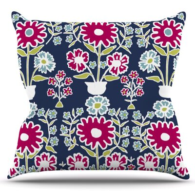 Turkish Vase by Laura Nicholson Outdoor Throw Pillow