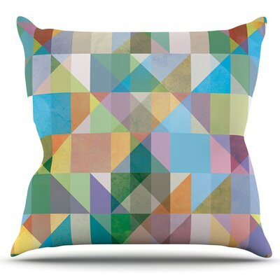 Graphic 74 by Mareike Boehmer Outdoor Throw Pillow